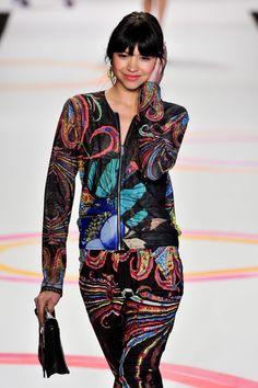 Desigual at New York Fashion Week Spring 2014 - StyleBistro
