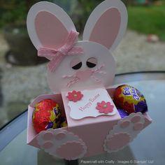 Envelope Punch Board Easter Bunny