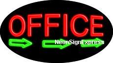 Office Flashing Neon Sign