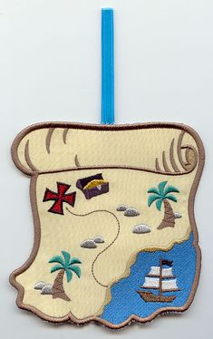 Playful Pirate Towel Topper (In-the-Hoop)