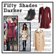 """Dakota Johnson // Anastasia Steele"" by clo-egral ❤ liked on Polyvore featuring rag & bone, Ralph Lauren and The Kooples"