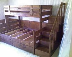 Image result for bunk bed plans twin over full