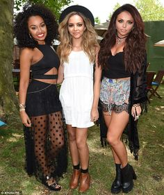 Leigh-Anne Pinnock, Jade Thirlwall and Jesy Nelson