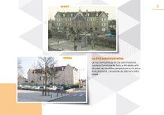Saint-Dizier avant/après : la Cité administrative. Le mur d'enceinte de la Cité administrative, rue de la Commune de Paris, a été abattu afin de créer de nouvelles perspectives sur la place Aristide Briand. L'ensemble du bâtiment a été ravalé.
