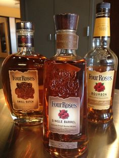 Four Roses Bourbon- we called in the experts for this one.