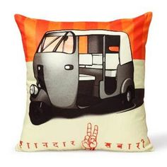 Feel closer to your Indian side by buying this trendy pillow cover from The Wall Store!