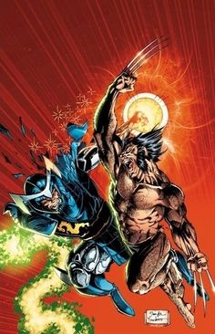 Wolverine versus Mandarin Art by: Jim Lee Here's another comic book that you can't go wrong when you pick it up, Uncanny X-Men issue 258. The Master, Jim Lee, Presents a battle between Wolverine and the Mandarin. The real Mandarin, not that fake one from Ironman three