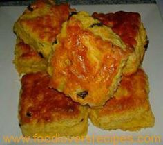 BASIC SCONE RECIPE WITH VARIATIONS Coconut Ice Recipe, Basic Scones, Shortbread Bars, South African Recipes, My Recipes, Cauliflower, Muffin, Basic Recipe, Baking