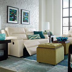 Looking for comfort, function and style to your life? Then you'll flip over Leo. This multi-purpose ottoman offers ample storage with a reversible top - one side with tufted fabric provides additional seating, while the other side converts to a wooden cocktail table. With wooden feet or casters, Leo is perfect alone and even better as a four-piece group!