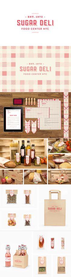 identity / sugar deli | #stationary #corporate #design #corporatedesign #logo #identity #branding #marketing < repinned by www.BlickeDeeler.de