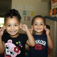 Multiracial kids - most of my cousins look like these...
