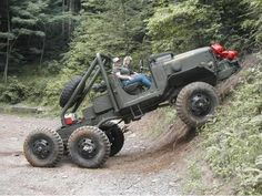 6x6 Off-Road'n rig  -- great use of an old Duce-&-a-half