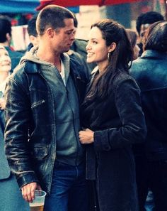 brad pitt and angie  mr. and mrs. smith