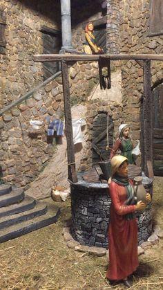Christmas Crib Ideas, Christmas Home, Christmas Crafts, Christmas Decorations, Christmas Ornaments, Christmas Village Sets, Christmas Nativity Scene, Christmas Villages, Cheap Diy Home Decor