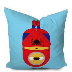 Minion Avengers Spiderman Pillowcase