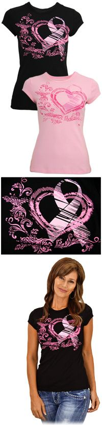 Pink Ribbon Renaissance Tee at The Breast Cancer Site