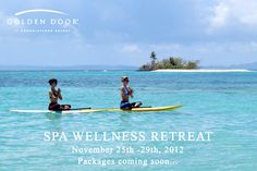 Need a fall escape? Then join us in Puerto Rico for our 1st Spa Wellness Retreat from November 25th -29th, 2012 at the magnificent El Conquistador Resort! The retreat will feature exciting activities such as paddleboard yoga on Palomino Island, silent meditation and ritual bath at El Yunque Rainforest...and so much more. So get ready to rejuvenate mind, body and spirit! Packages coming soon.