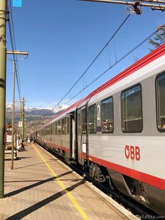 Taking a Train from Innsbruck to Brixen in South Tyrol (ÖBB EuroCity) Train Travel, Solo Travel, Time Travel, Corporate Identity Design, S Bahn, Austria Travel, Old Trains, South Tyrol, Central Station