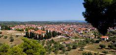 Agios Nikolaos #Halkidiki village #panoramic view http://gohalkidiki.com/agios-nikolaos/