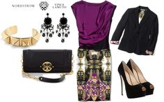 """Shine on the Job with Vince Camuto"" by wanlwanf on Polyvore"