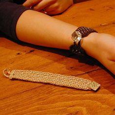 2nd Nature Design--A. Karen Alfke--Bead-Knit Bracelets