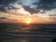 Sunset at the gulf ~ loving Florida