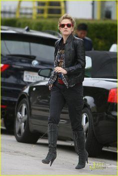 Drew Barrymore Loves Iron Maiden | Drew Barrymore Photos | Just Jared