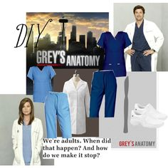 """Grey's Anatomy"""" by anabel-carter on Polyvore"""