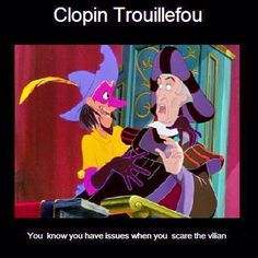 I love the Disney version of hunchback of notre dame. Clopin has to be my favorite character next to Esmeralda. This cracked me up. Super funny!