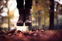 autumn's jump. by Sarah Messina, via Flickr