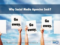 Why social media agency suck?