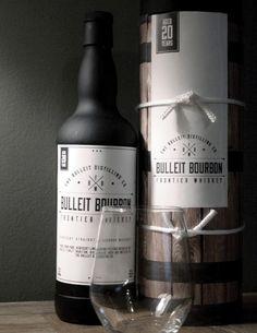Bulleit Бурбон Виски Frontier (Студент проекта) на упаковке Мира - Творческий Дизайн упаковки Галерея