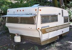 m o d e r n f r o s t: May 2010 Camper Trailer For Sale, Vintage Campers Trailers, Camper Trailers, Camping Life, Rv Camping, Little Campers, Camper Renovation, Motorhome, Recreational Vehicles