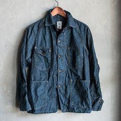 "dept17: "" Post Overalls Engineers Jacket SS 14 www.dept17.com #jacket #menswear #fashion #japan #americana #workwear """