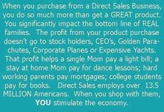 Direct selling is the marketing and selling of products directly to consumers away from a fixed retail location. Peddling is the oldest form of direct selling. Read More..... aaronshara.com