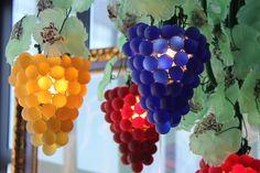Image detail for -Italian Murano Glass Grape Chandelier