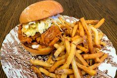 Introducing: Porter House, a new vegan pub Porter House, Pub Food, Toronto Life, Grubs, Pulled Pork, Hamburger, Restaurant, Treats, Vegan