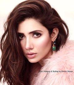 Mahira Khan in a recent photoshoot  Styling by @omayrwaqar - #mahirakhan