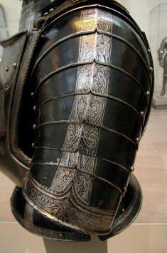 Foot armour - left pauldron, German 1560