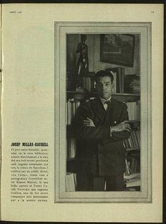 Josep Maria Millàs-Raurell. Escriptor, traductor i dramaturg. - D'ací d'allà. Vol. 17, Núm. 124 (abr. 1928) :: D'ací d'allà