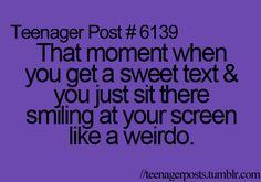 Love those texts :)