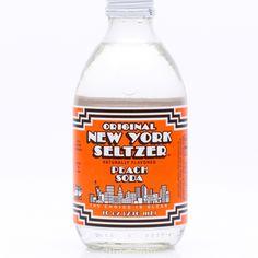New York Seltzer Peach Soda