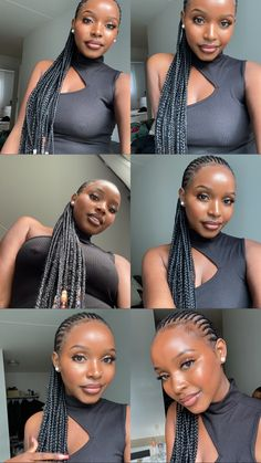 These small straightbacks 😍. Check out 15 different cute cornrow hairstyle ideas that never go out of style. Cornrows With Beads, Cute Cornrows, Cornrows For Girls, Cornrows Braids For Black Women, Black Girl Braids, Braids For Black Hair, Girls Braids, Small Cornrows, Braided Cornrow Hairstyles