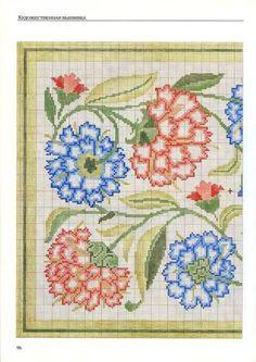 Gallery.ru / Фото #92 - Художественная вышивка. Узоры, схемы, инструкции - logopedd