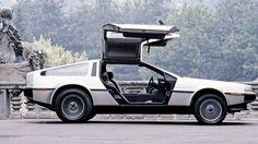 DeLorean: o projeto do carro começou em 1974, mas ele ganhou fama no filme De Volta para o Futuro, de 1985