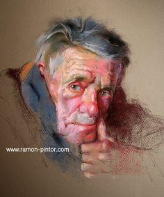 Custom portrait - Original painting - Pastel on Canson paper - vibrant colors op Etsy, 350,00 €