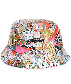 6f2753ae71a6c9 Stussy // Jamrock Bucket Hat Fisherman's Hat, Embroidered Hats, Stussy,  Celebrity Outfits
