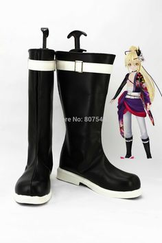 Click to Buy << Vocaloid Kagamine Len Cosplay Men Boots Boys Shoes Custom