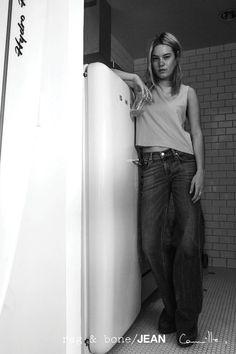 rag & bone: DIY Model Camille Rowe