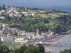 teignmouth devon uk | Teignmouth from the coast path - geograph.org.uk - 491626